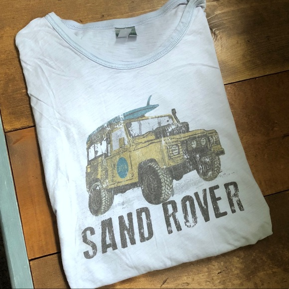 HWY 30A Other - Lt Blue Super Soft HWY 30A Sand Rover T-shirt